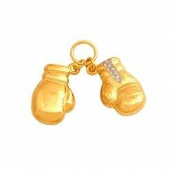 Zawieszka złota rękawice bokserskie