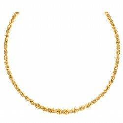 Łańcuszek złoty Kordel